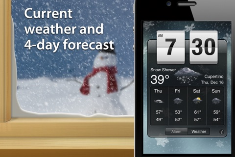 Weather Clock Pro screenshot 1