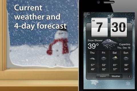 Weather Clock Pro screenshot 1