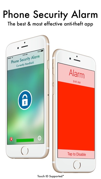 Phone Security Alarm Pro Screenshots
