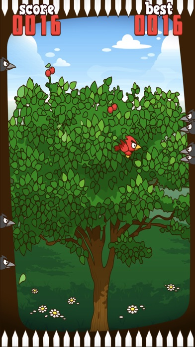 Red Bird - Cherry Challenge Screenshot 4