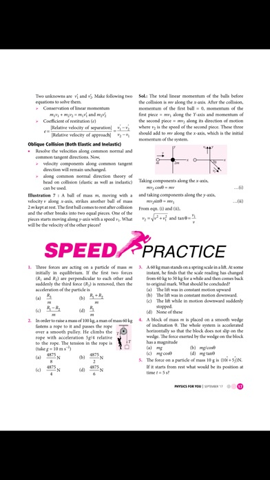 Physics For You review screenshots
