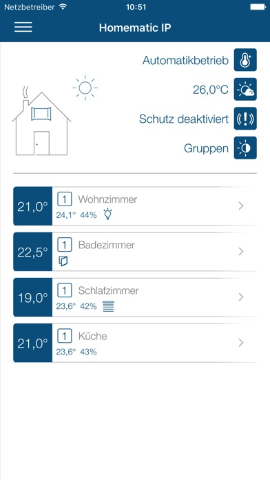 homematic ip im app store. Black Bedroom Furniture Sets. Home Design Ideas