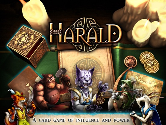 Harald: A Game of Influence на iPad
