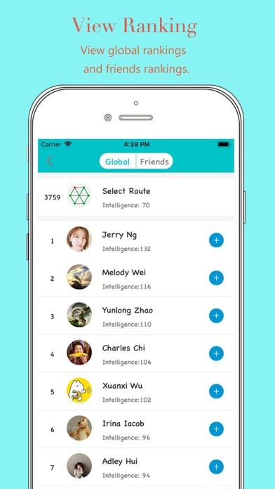 Select Route Screenshots