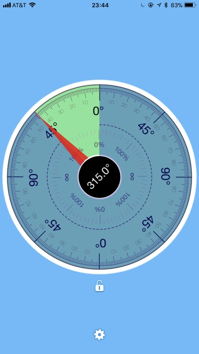 TiltMeter screenshot two