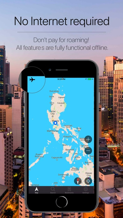 Screenshot for Philippines Navigation in Colombia App Store