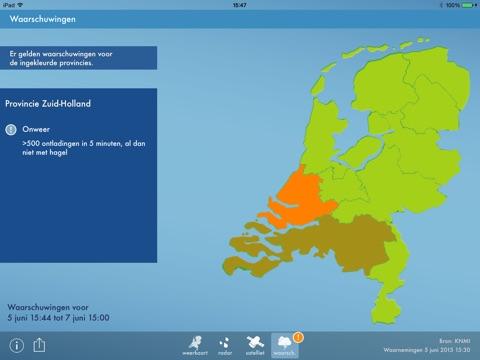 Weerbericht Nederland screenshot 4
