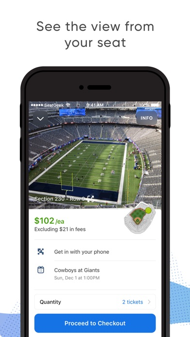 download SeatGeek - Buy Event Tickets apps 0