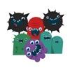 塗鴉派對 - 可愛的怪物們玩得很開心