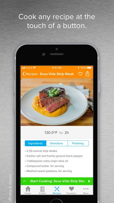 Anova Culinary Iphone App