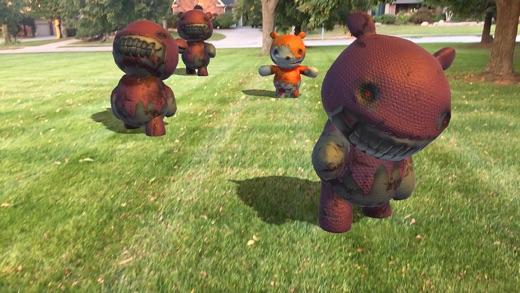 BATTLE BEARS ZOMBIES AR Screenshots