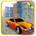 3D City Entrance Car