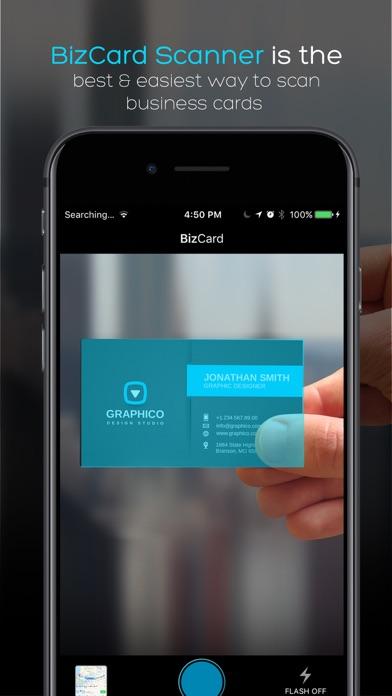 BizCard Scanner For Me - Save & Share BizCards Screenshots
