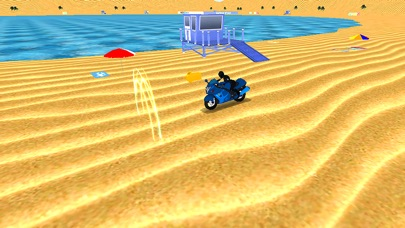 Water Surfer Beach Bike Rider screenshot 3