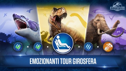 Screenshot of Jurassic World™: il gioco1
