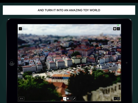 Tilt Shift Focus HD screenshot 3