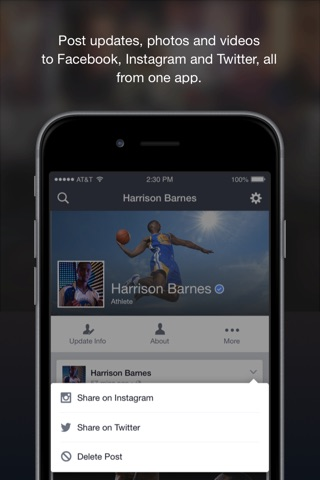 Facebook Creator screenshot 2