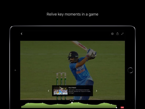 Screenshots of Hotstar for iPad