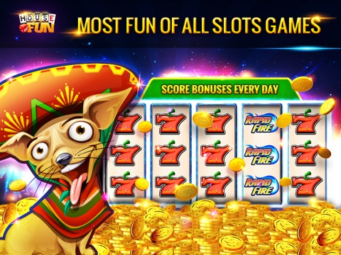 Slots Casino - House of Fun screenshot 4