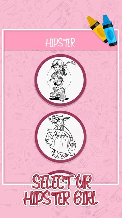 История девочек: книжка-раскра Скриншоты3
