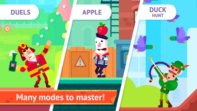 Bowmasters - Multiplayer Game iPhone