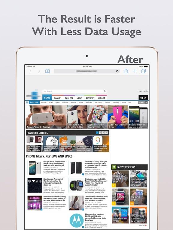 The Ads Blocker Screenshots