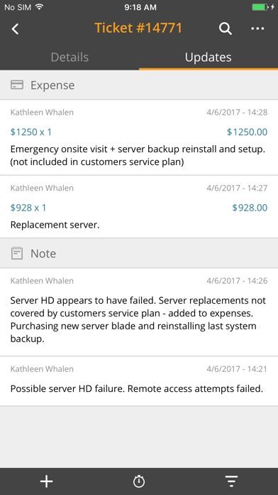 Screenshot of MSP Manager2