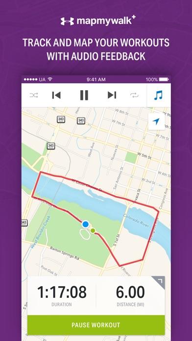 Map My Walk+ by Under Armour Screenshots