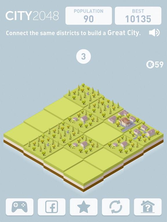 City 2048 для iPad