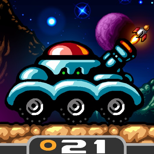 月球探险车 Action Buggy【Donut游戏】