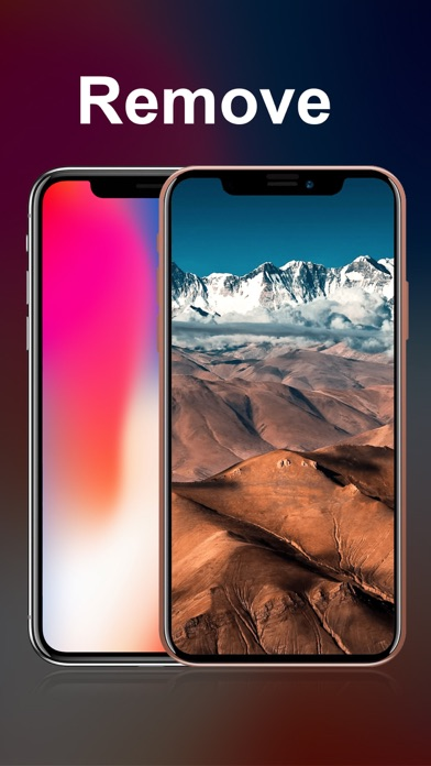 X Notch Remover for iPX Screenshot 1