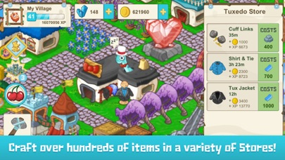 Screenshots of Tiny Village for iPhone