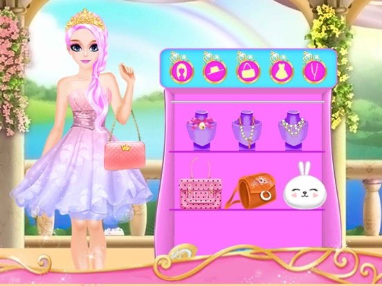 Принцесса одеваются. Скриншоты6