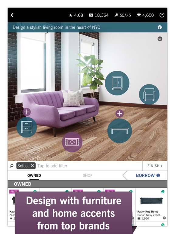 iPad Screenshot 2. Design Home on the App Store