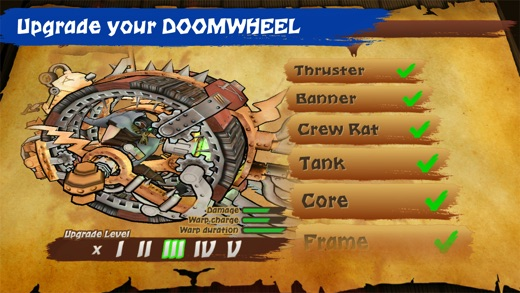 Doomwheel Screenshot