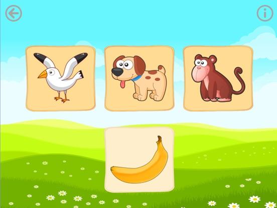 Еда животных. Игры для малышей Скриншоты7