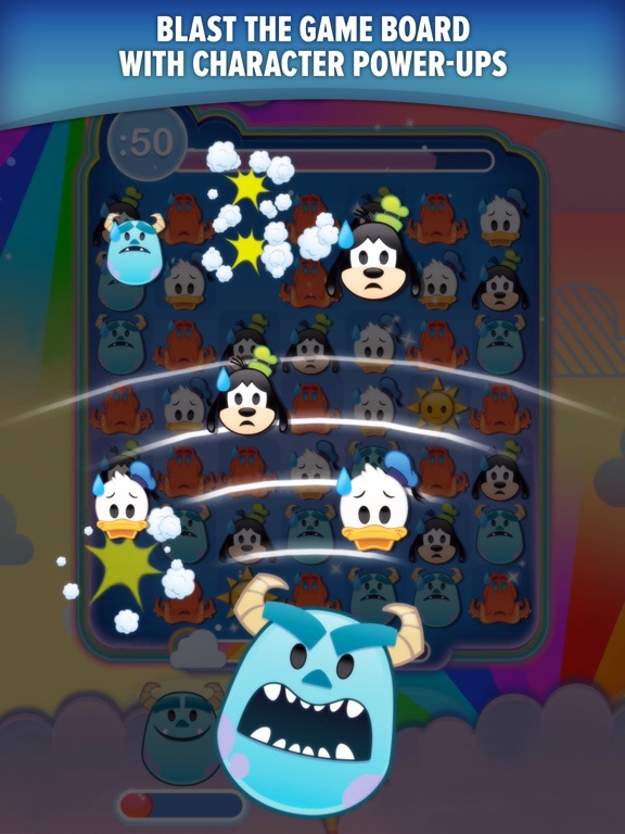 Screenshot #4 for Disney Emoji Blitz with Pixar
