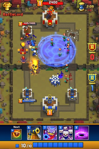 Great Royale Wars - Clash of Block screenshot 4