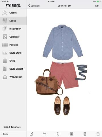 Stylebook Men screenshot 1