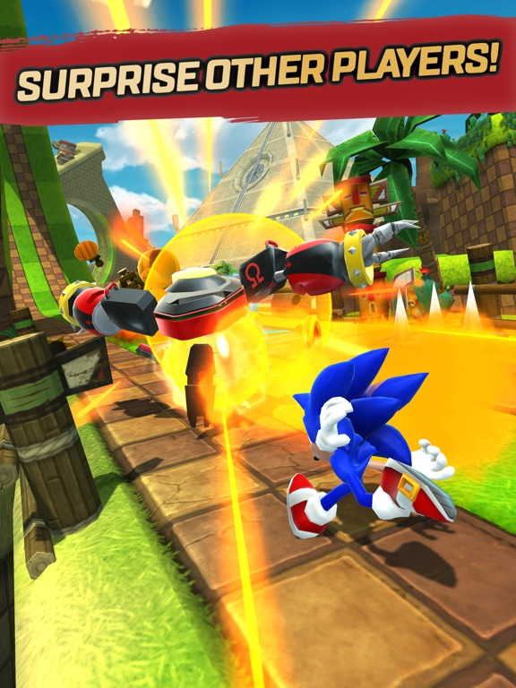 Image of Sonic Forces: Speed Battle for iPad