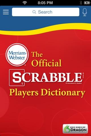 SCRABBLE Dictionary screenshot 1