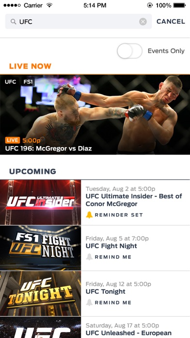 download FOX Sports GO apps 1
