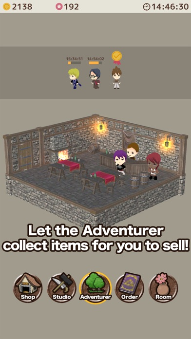 Item shop crafting game by yoko sato screenshots iphone ipod screenshots iphone ipod gumiabroncs Image collections