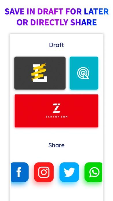 download Logo Maker + Logo Creator appstore review