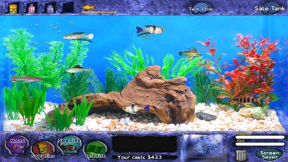 Screenshots of Fish Tycoon Lite for iPhone