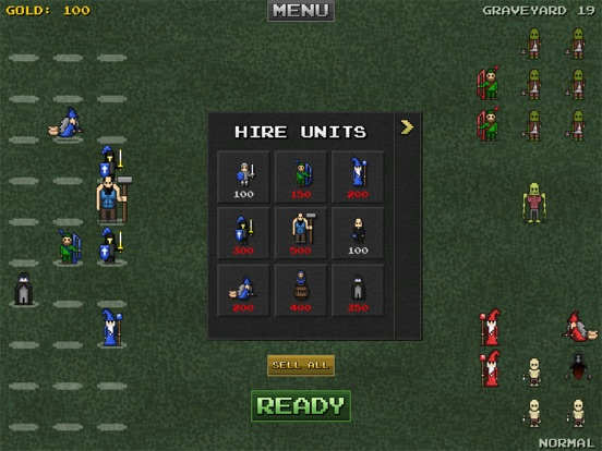 Screenshot #5 pour 8bitWar: Necropolis