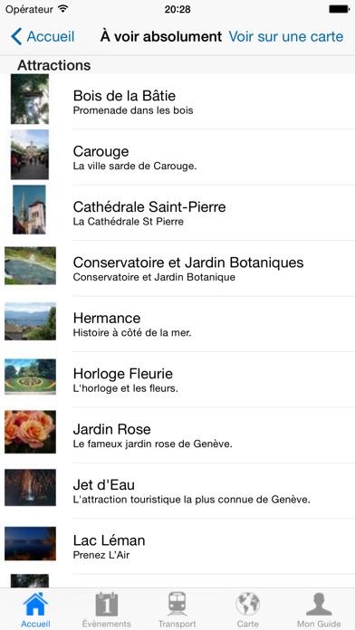Genève: Guide de voyageCapture d'écran de 4