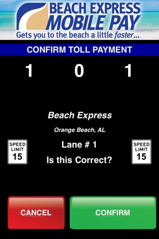Beach Express Mobile Pay screenshot 3