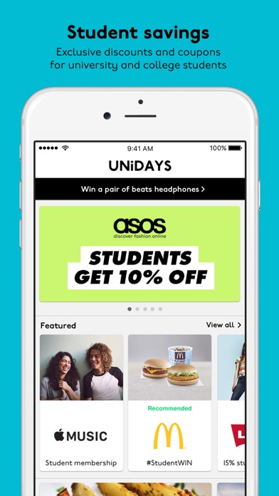 UNiDAYS: Student Discounts By MyUNiDAYS Ltd.