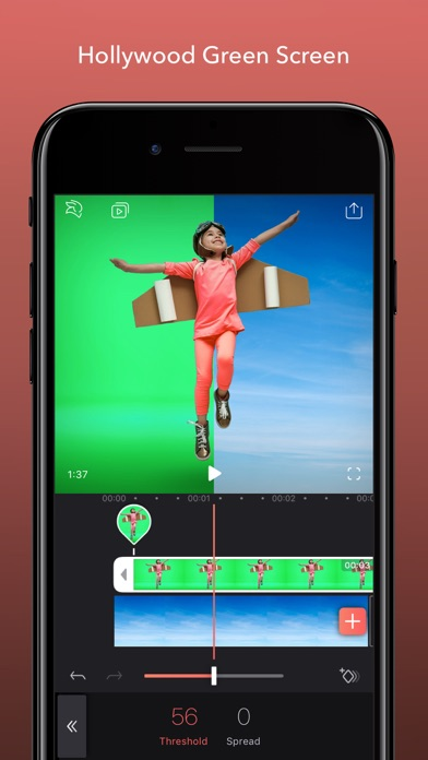 App Store Screenshot of Enlight Videoleap